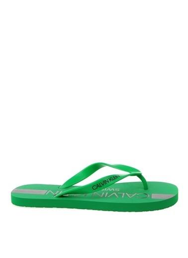 Calvin Klein Plaj Terliği Yeşil